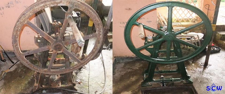 old well pump restorations